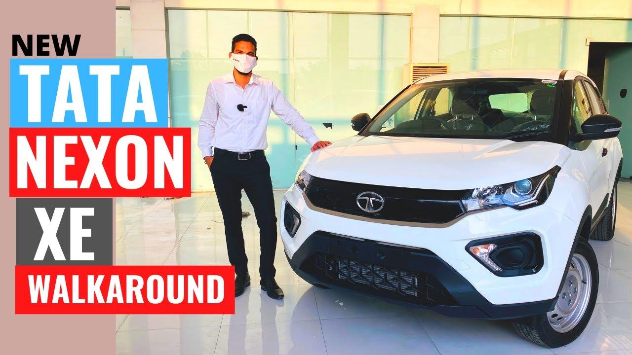 2020 Tata Nexon XE walk around  | new Tata Nexon XE | Tata Nexon review | Tata Nexon Base Variant