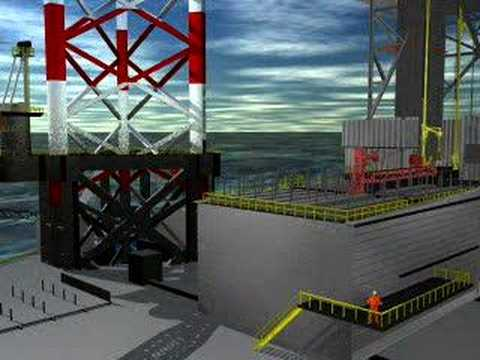 A Virtual Journey to The World's Largest Jack-Up Structure