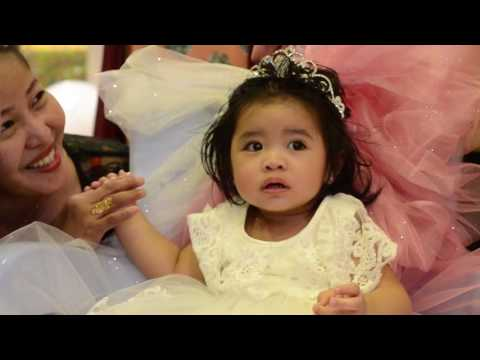 Angel Aquino Balani First Birthday