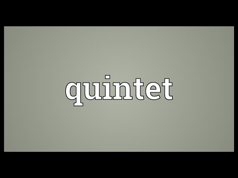 Quintet Meaning