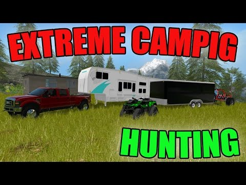 MOUNTAIN CAMPING | HUNTING BLIND | EXTREME TOYS | FARMING SIMULATOR 2017