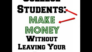 Make money online as a college student | 22 yr old creates 6 figure income in 4mo