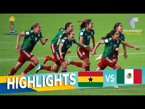 Ghana vs. México: Tri femenil pasa a semifinales | Mundial Femenina Sub-17 | Telemundo Deportes