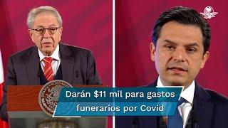 En conferencia de prensa que encabeza el presidente Andrés Manuel López Obrador, el secretario de Salud indicó que este apoyo será solidario, universal y directo