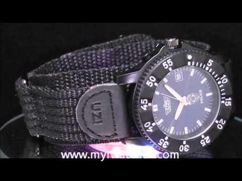 8f633e3d95 UZI POLICE WATCH UZI-TP455P-COMBO - YouTube