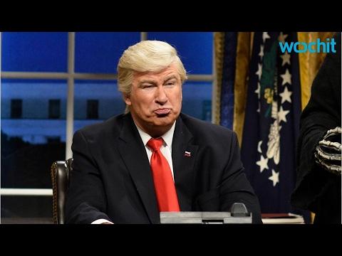 Paper Accidentally Runs Photo of Baldwin on 'SNL' as Trump