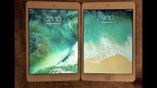 iPad Mini 2, iOS 10.3.3 vs iPad Mini 3, iOS 11.1.1