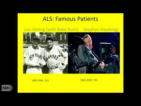 2018 Demystifying Medicine: Amyotrophic Lateral Sclerosis (Lou Gehrig's Disease)