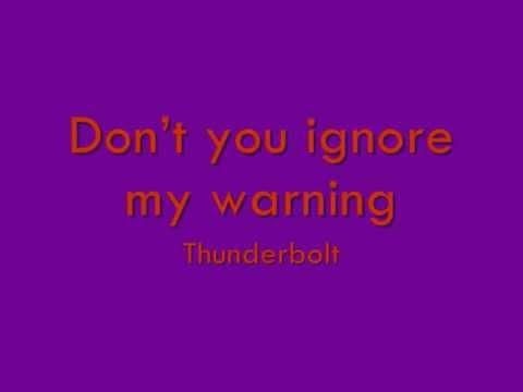 Thunderbolt karaoke