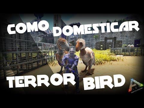 ARK: Survival Evolved - Como Domesticar al Terror Bird - GUIARK