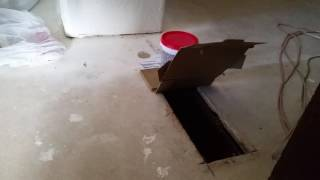 Prototype self closing floor vent cover proof of concept.