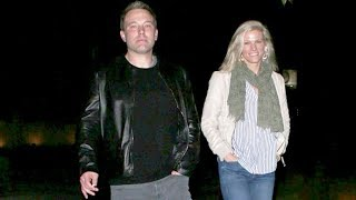 Ben Affleck And Lindsay Shookus Enjoy Romantic Date Night As Engagement Rumors Swirl - EXCLUSIVE