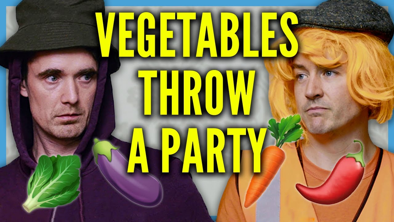 Download Vegetables Throw a Party | Foil Arms and Hog