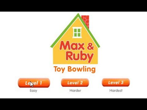 Max And Ruby Toy Bowling 2 Youtube