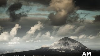 Wild Atlantic Way, Ireland, Donegal,  Errigal, Time-lapse