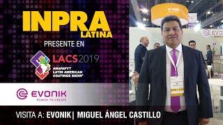 Entrevista con Miguel Ángel Castillo de Evonik
