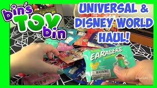 Back From Florida! Universal & Disney World Haul! Grab Bags Opening! by Bin