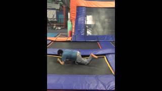 Niam Jain Autism Artist Trampoline Jumping