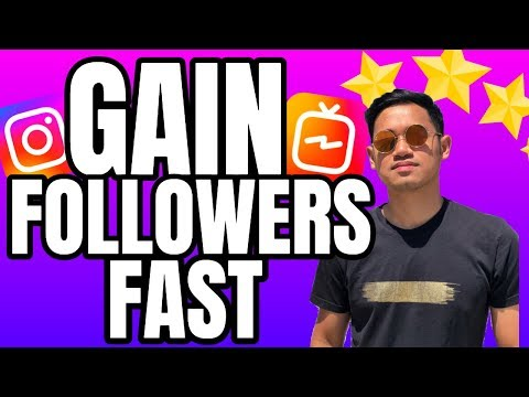 NEW UPDATE | How to Gain Instagram Followers Fast and Get More Engagement with IGTV 2019