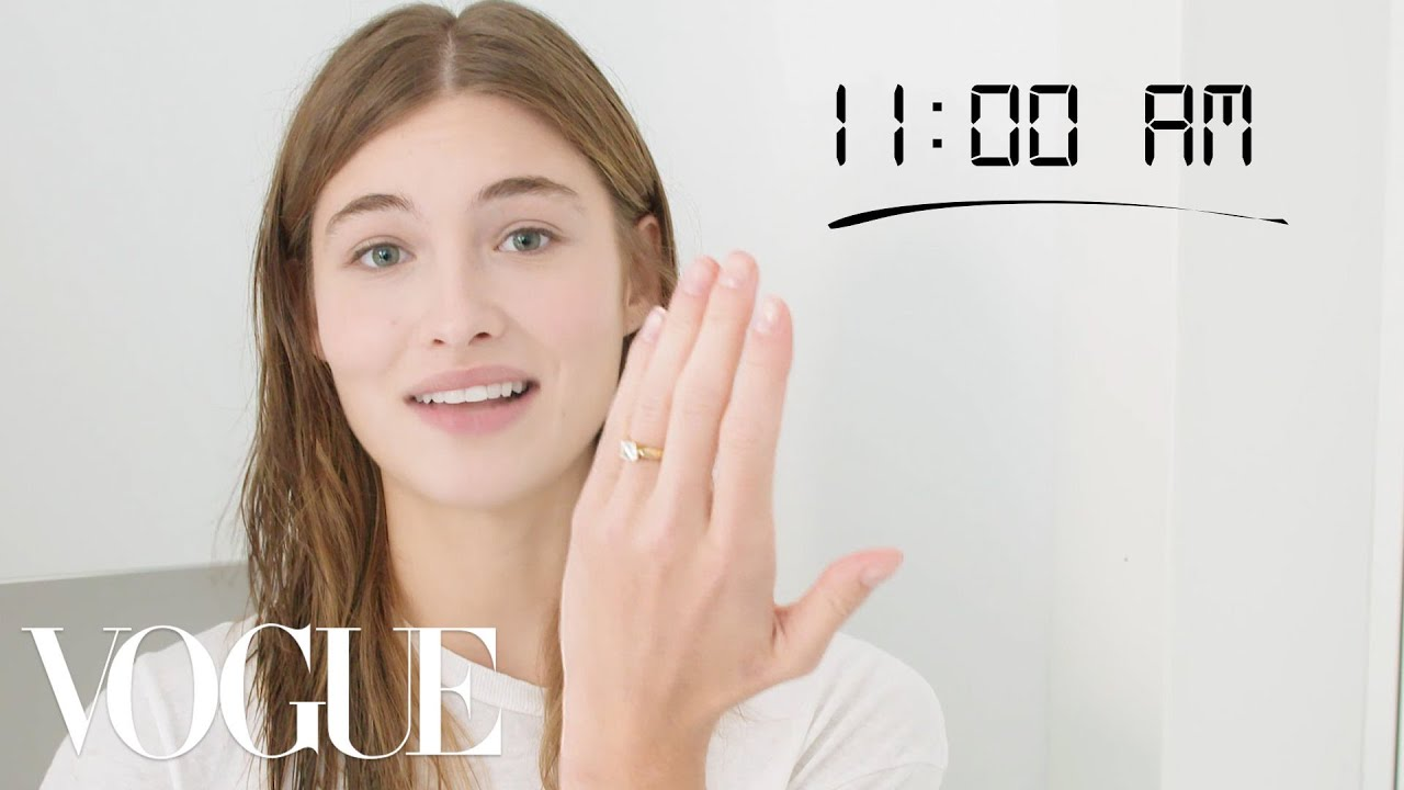 How Top Model Grace Elizabeth Gets Runway Ready | Diary of a Model