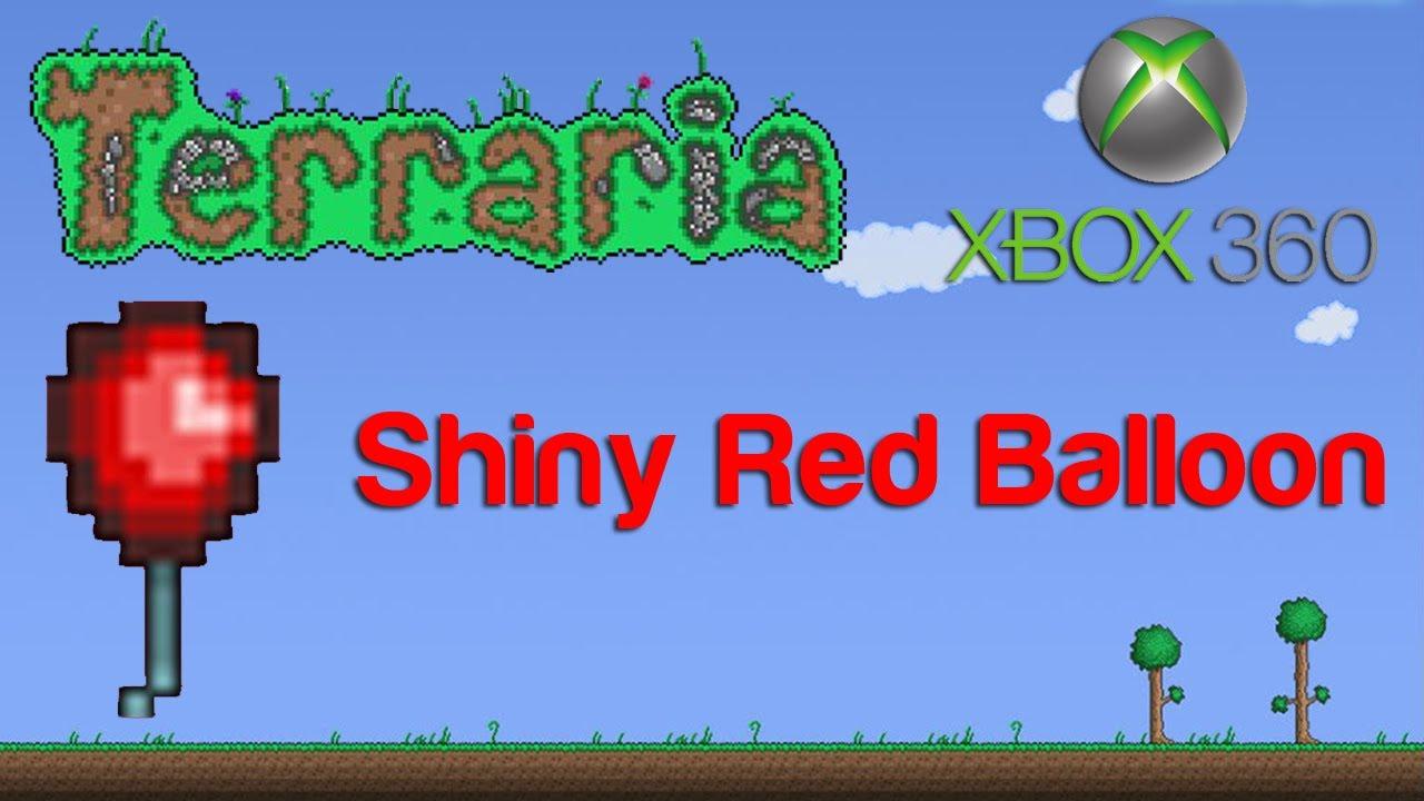Terraria Xbox Shiny Red Balloon 18 YouTube