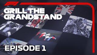 Grill The Grandstand! | Formula 1 Quiz | Episode 1