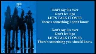 Blue - Lets Talk It Over ( + lyrics 1974)