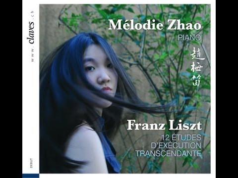 Mélodie Zhao - F. Liszt: 12 Etudes d'éxécution transcendante / 4. Mazeppa
