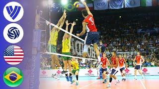 USA vs. Brazil - FULL FINAL | Men's Volleyball World League 2014 screenshot 5