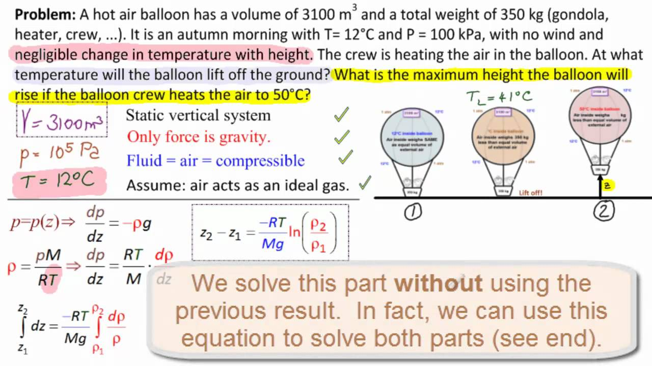 hot air balloon physic # 17