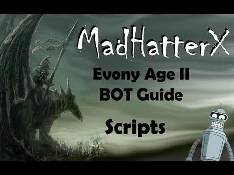 Evony Bot Scripts Guide