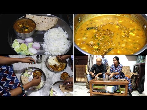 Indian lunch Routine