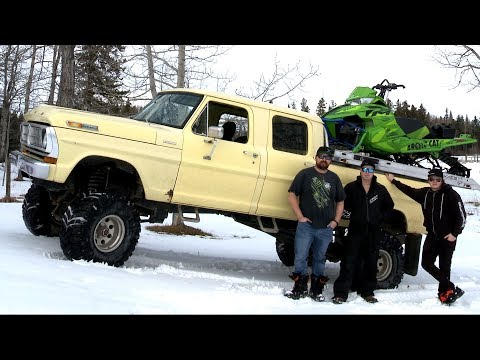 COOLEST SLED HAULER AROUND!? OLD FORD