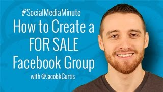 [HD] How to Create a FOR SALE Facebook Group