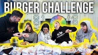 CHEESEBURGER CHALLENGE!