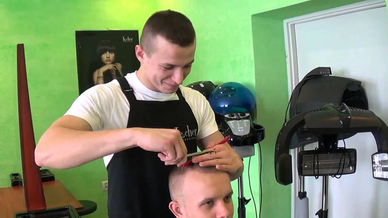 Technik Usług Fryzjerskich Pracownia Fryzjerska 2 Youtube