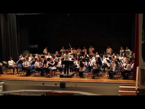 Ghosts of The Lost Ship-Lindenhurst Middle School, 6th grade band