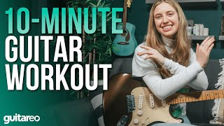 10-Minute Guitar Practice Rouтine for Beginners