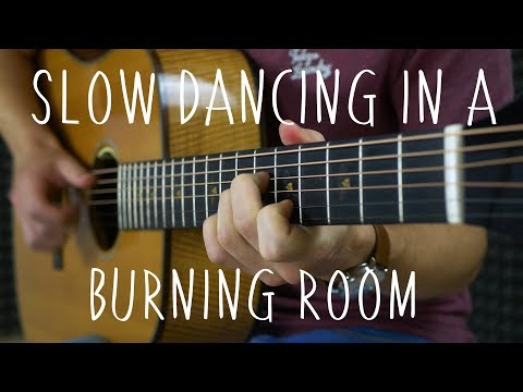 John Mayer - Slow Dancing in a Burning Room - Fingerstyle Guitar Cover