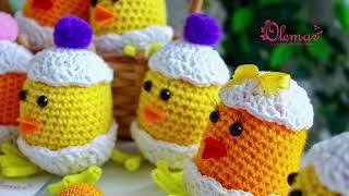 Видео урок: Пасхальный Цыплёнок крючком