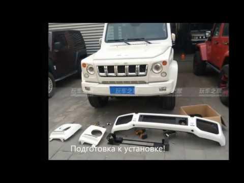 Китайский клон Mercedes AMG G класс с внедорожным тюнингом