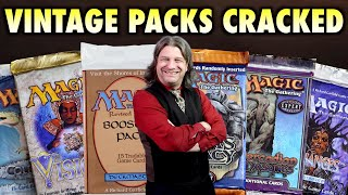 Vintage MTG Packs Opened! Revised, Urza's Legacy, Mercadian Masques, Visions, Alliances, ColdSnap!