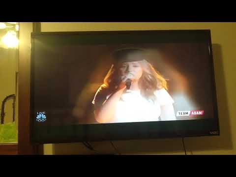 ADDISON AGEN- LUCKY- The Voice, Dec 4, 2017