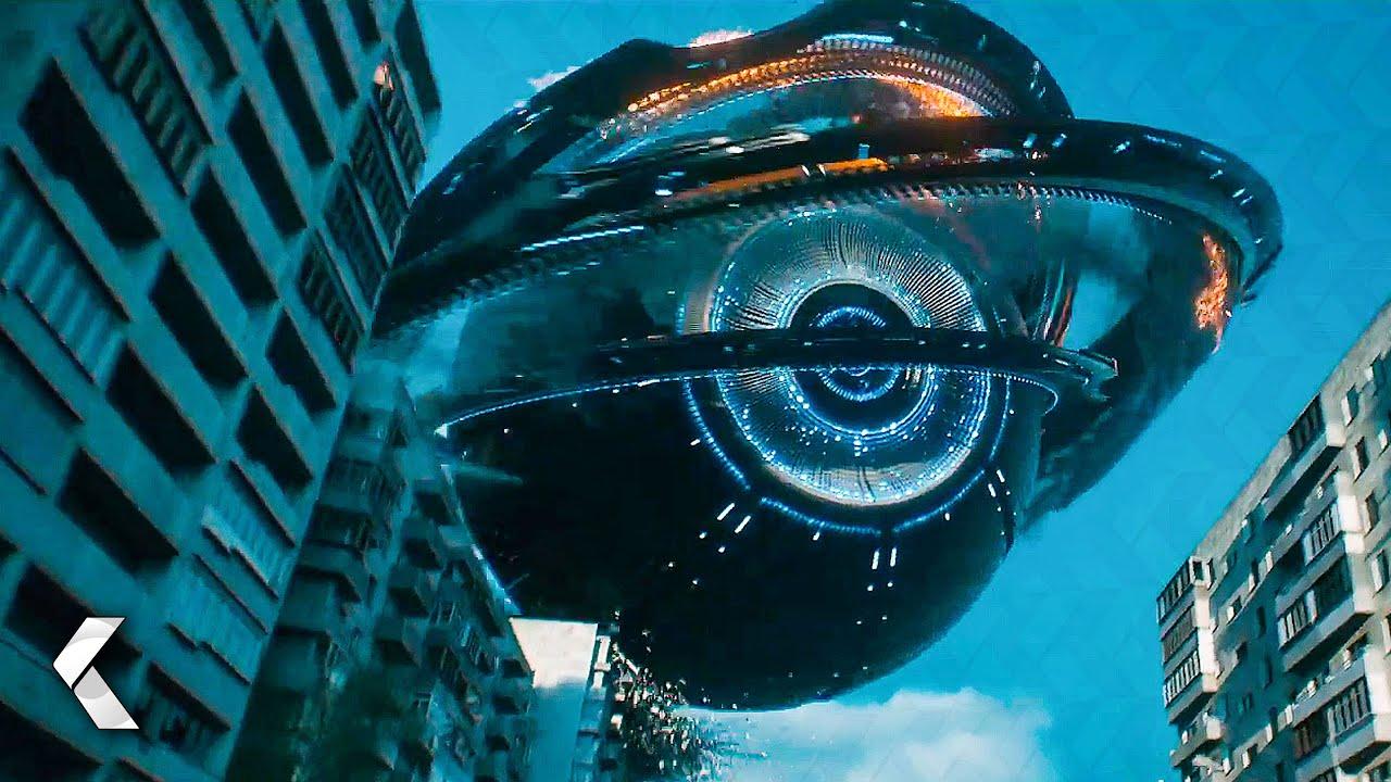 Alien Ship Crashes on Earth! Scene - ATTRACTION (2018)