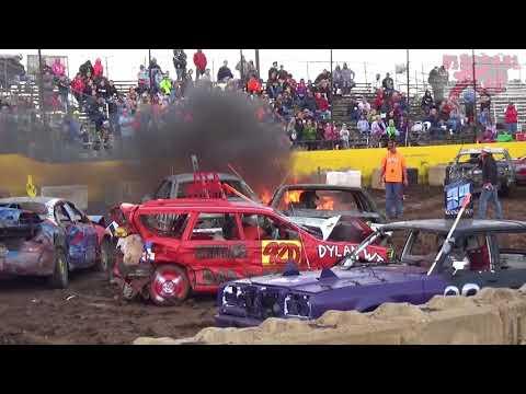 2017 CDDA Crashtoberfest @ Salina Speedway Oct 14th 2017 - Bone Stocks