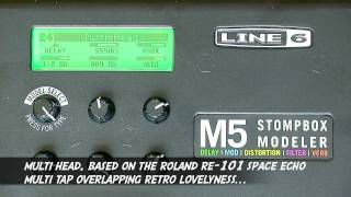 Line 6 M5 Stompbox - In Depth Review @ PMT
