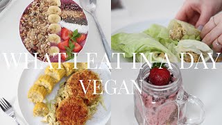 what i eat in a day 8 vegan plant based   jessbeautician