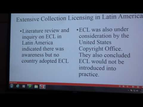 Latin American Copyright Alternatives for 2030 by Stephen Marvin, West Chester University