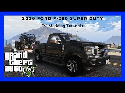 PC Modding Tutorials: How To Install 2020 Ford F-250 Super Duty #76