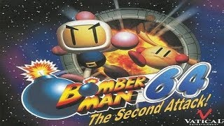 (N64) BomberMan 64 - The Second Attack - Walkthrough Part 1 - Intro & Alcatraz (100%)